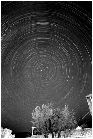 StarTrails/moonless night